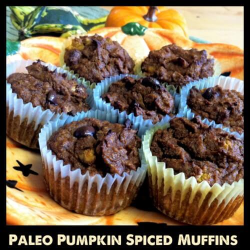 Paleo Pumpkin Spiced Muffins from Primally Inspired