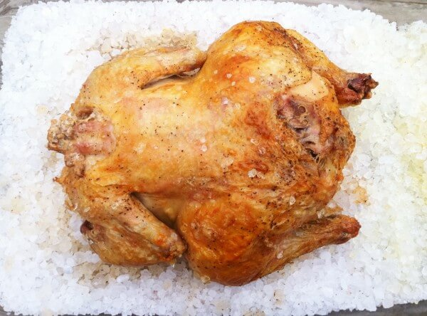 Rock Salt Roasted Chicken