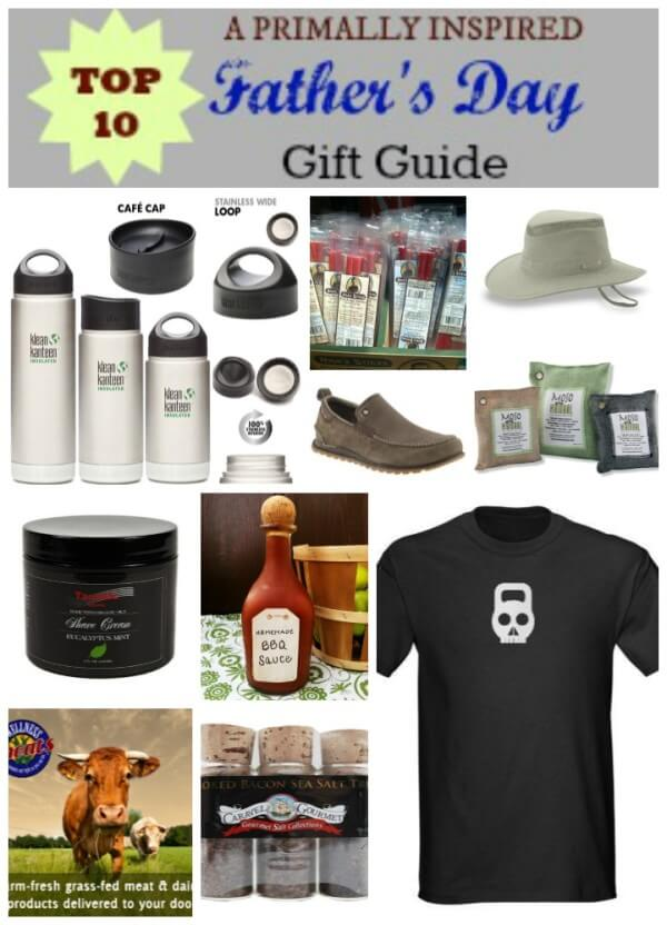 Top 10 Father's Day Gift Guide from Primally Inspired