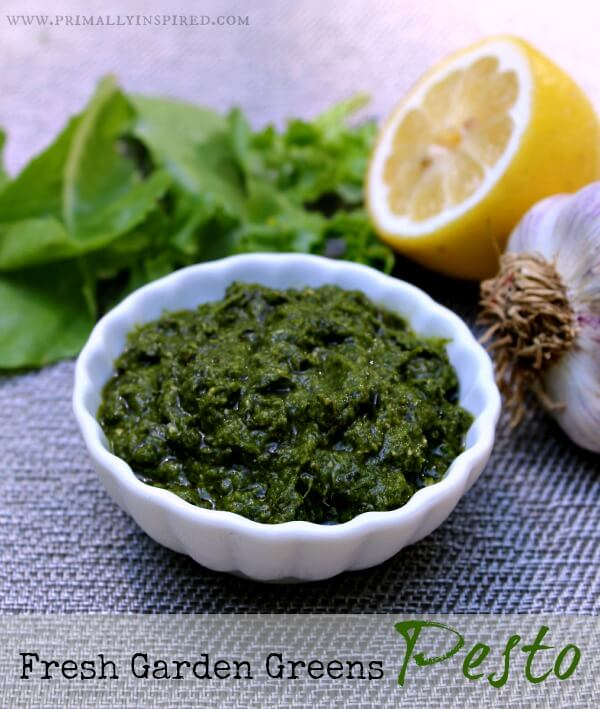 Garden Greens Pesto (Nut Free)