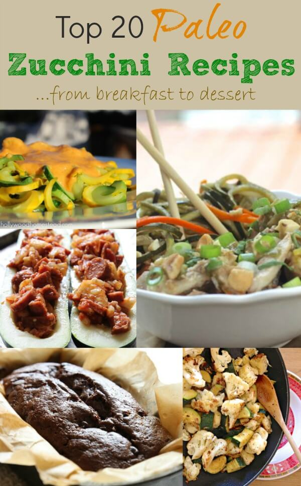 Top 20 Paleo Zucchini Recipes via Primally Inspired