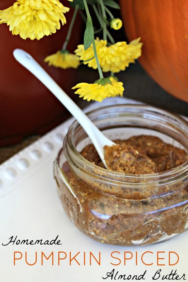 Pumpkin Spiced Almond Butter