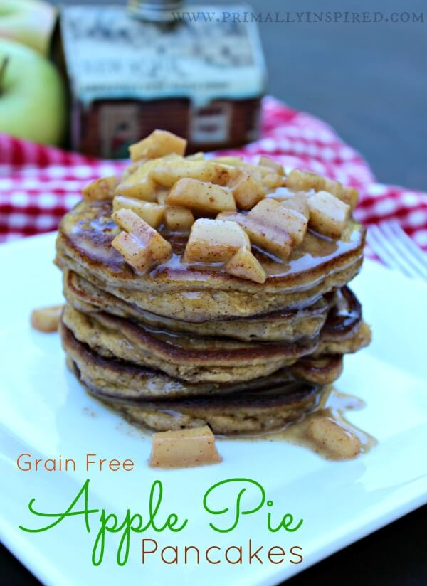 Grain-Free Apple Pie Pancakes