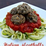 Italian Meatballs from Primally Inspired