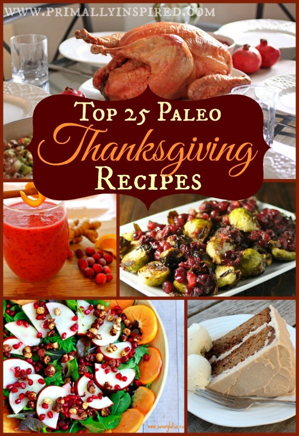 Best Paleo Thanksgiving Recipes