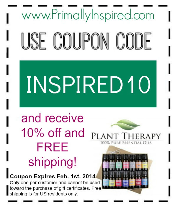 Plant Therapy Coupon  PrimallyInspired.com