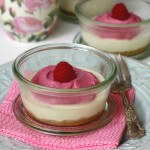 Dairy & Grain-Free Raspberry Cheesecake