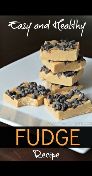 Easy Healthy Fudge Recipe from Primally Inspired- www.PrimallyInspired.com