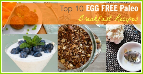 Top 10 Egg Free Paleo Breakfast Recipes - www.PrimallyInspired.com