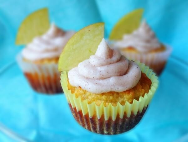 Apple Pie Cupcakes - Paleo Cupboard