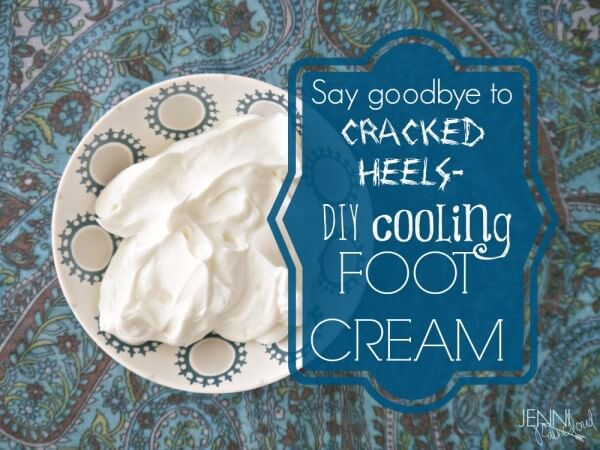 Cooling Foot Cream from Jenni Raincloud www.PrimallyInspired.com
