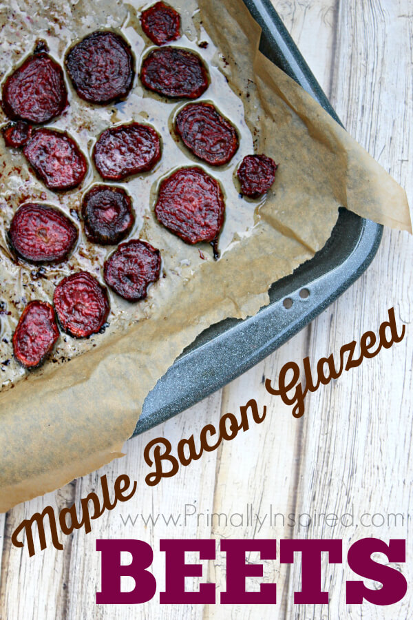 Maple Bacon Glazed Beets from Primally Inspired