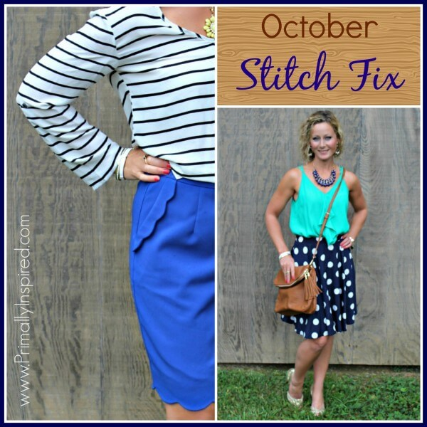 October Stitch Fix Review from Primally Inspired