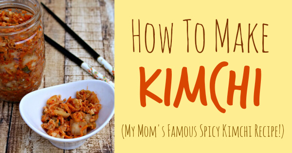 How To Make Kimchi (Korean Spicy Kimchi Recipe) from Primally Inspired