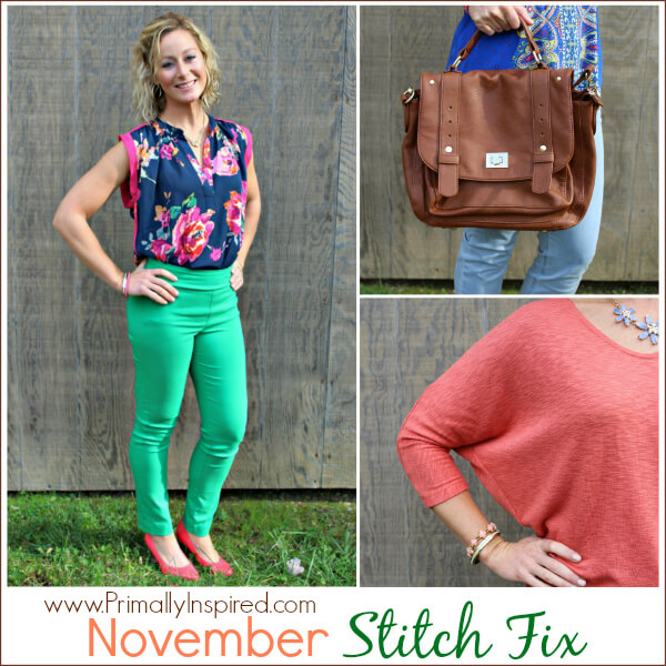 November Stitch Fix Review from Kelly at Primally Inspired
