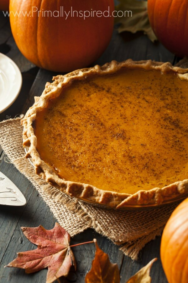 Paleo Pumpkin Pie Recipe Primally Inspired