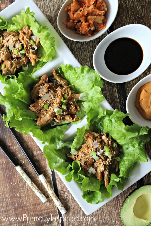 Sesame Chicken Slow Cooker Recipe (Paleo) from Primally Inspired