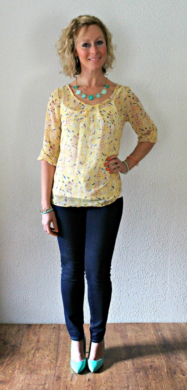 Papermoon Bart Scoop Neck Blouse from Stitch Fix