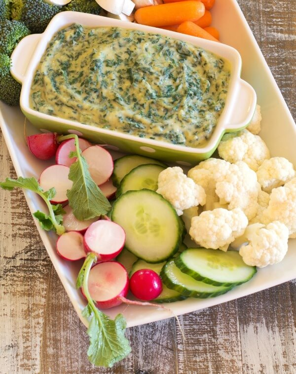 Spinach Artichoke Dip from Nourish via Primally Inspired (Paleo, AIP, Whole30)