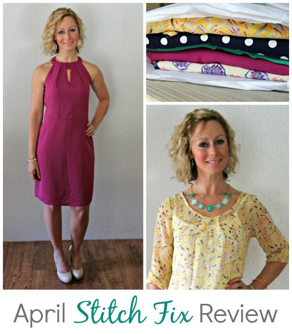 April Stitch Fix Review from Kelly Primally Inspired