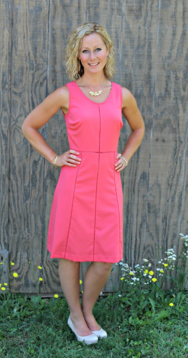 June Stitch Fix Review - Andrew Marc Alissa Dress  Kelly from Primally Inspired #stitchfix