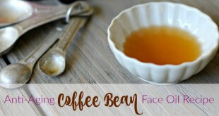Anti-Aging Coffee Bean Face Oil Recipe Primally Inspired - tightens and smooths under eye area!