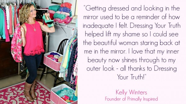 Kelly from Primally Inspired is a Type 1! Dressing Your Truth Type 1/4 #dressingyourtruth #dyt