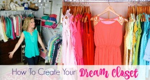 How To Create Your Dream Closet - Love this!! Dressing Your Truth Type 1