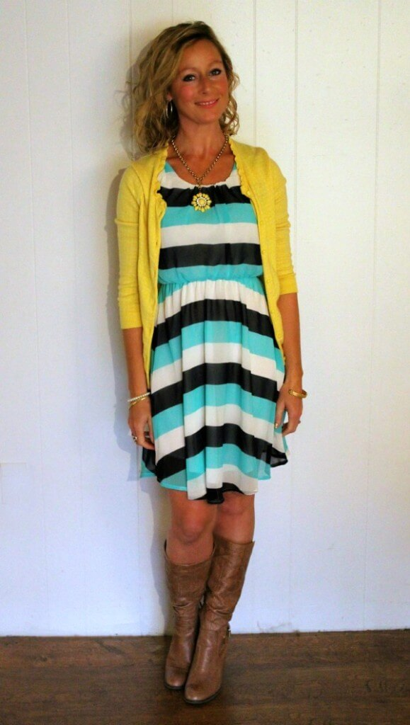 November Stitch Fix 2015 Papermoon Soren Dress - Dressing Your Truth Type 1