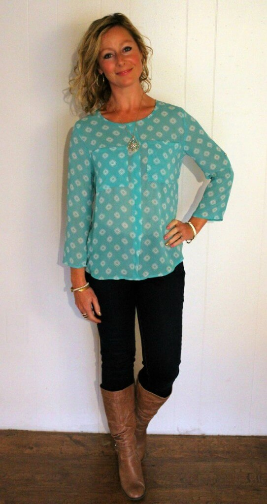 November Stitch Fix Review 2015 Papermoon Wynn Blouse Dressing Your Truth Type 1