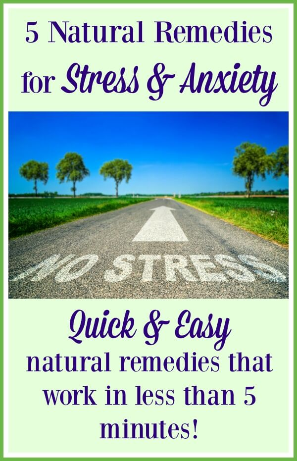 Natural Remedies for Stress and Anxiety that work quickly