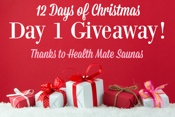 Primally Inspired Giveaway Day 1 - Health Mate Saunas