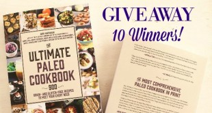 The Ultimate Paleo Cookbook Review and Giveaway
