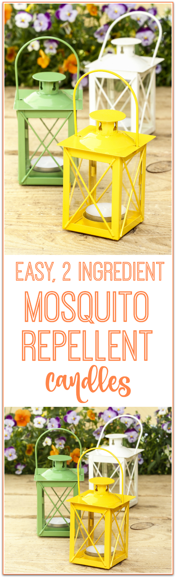 Homemade Mosquito Repellent Candle Recipe