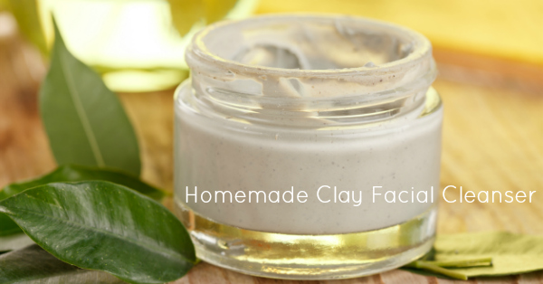 This Homemade Clay Facial Cleanser Recipe is a face scrub and cleanser all in one and great for all skin types. It's an easy DIY recipe that deep cleans, unclogs pores, gently exfoliates and calms acne, redness and inflammation. Gentle enough for daily use. Expect a healthy, radiant glow after the very first use!
