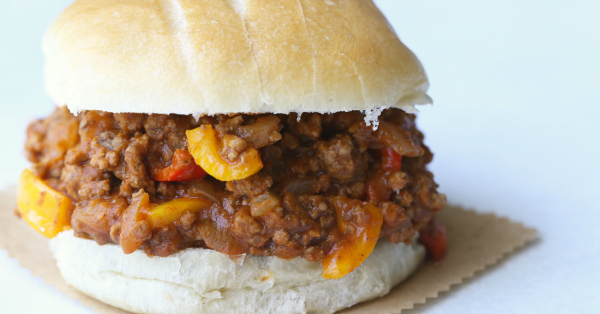 This pumpkin sloppy joes recipe is a family favorite! SO easy - just dump it all in the crockpot!