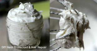 DIY Heat Protectant and Hair Repair Styling Cream - this stuff transformed my hair!!!