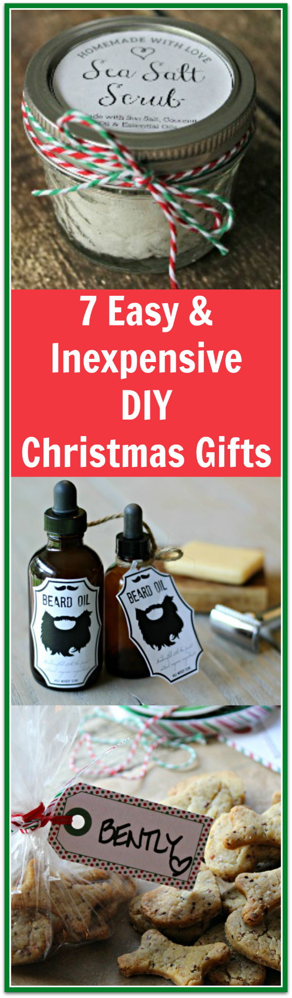 I love these simple but really nice diy christmas gifts and ideas! There's even free printable labels!
